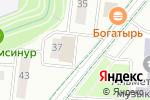 Схема проезда до компании Би Компани Сервис в Альметьевске