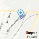 Загородный рай на карте Альметьевска