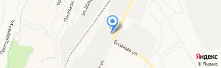 Блисс на карте Альметьевска