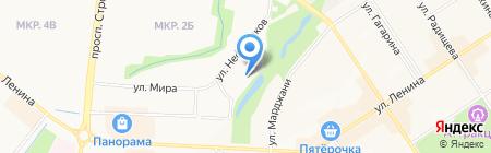 Центр детско-юношеского творчества на карте Альметьевска