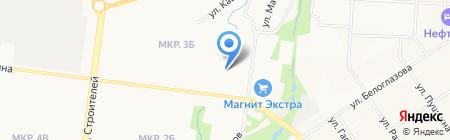 Детский сад №43 Белочка на карте Альметьевска