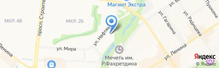 Альметьевская детская музыкальная школа №1 на карте Альметьевска