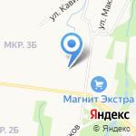 Белочка на карте Альметьевска