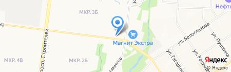 Жасмин на карте Альметьевска