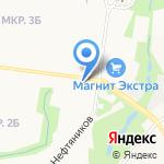 Клёв на карте Альметьевска