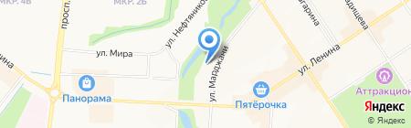 Городская типография на карте Альметьевска