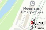 Схема проезда до компании Городская типография в Альметьевске