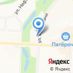 Альметьевская городская прокуратура на карте Альметьевска