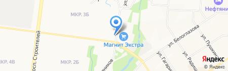 Медея-конто на карте Альметьевска