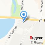 Банный лист на карте Альметьевска