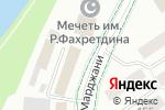 Схема проезда до компании Знамя Труда в Альметьевске