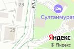 Схема проезда до компании Цветочный магазин в Альметьевске