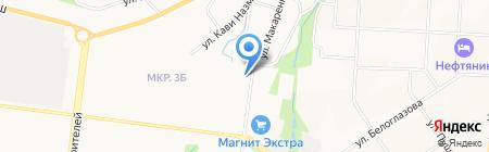 Территориальный фонд обязательного медицинского страхования Республики Татарстан на карте Альметьевска