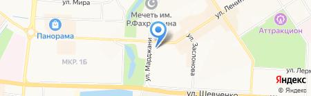 АБ Девон-кредит на карте Альметьевска