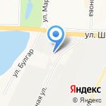 АвтоГазСервис на карте Альметьевска