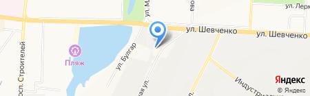 АЗС №1 на карте Альметьевска