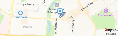 КАКАДУ на карте Альметьевска