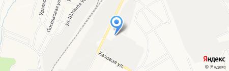 Альметьевский завод металлических конструкций на карте Альметьевска
