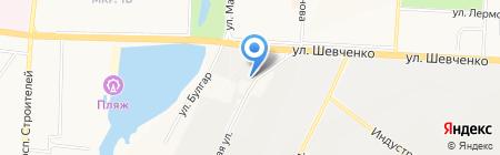 Шашлычный дворик на карте Альметьевска