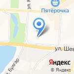Средняя общеобразовательная школа №17 на карте Альметьевска