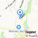 АвтоРеал16 на карте Альметьевска