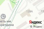 Схема проезда до компании Информатик Плюс в Альметьевске