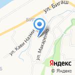 Бигашская мечеть на карте Альметьевска