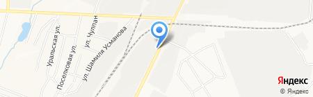 Налево на карте Альметьевска