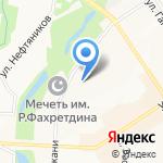 Элител на карте Альметьевска