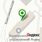 Местоположение компании ДАЙМЭКС