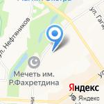 Центр обслуживания бизнеса на карте Альметьевска