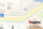 Схема проезда до компании Эмоции в Альметьевске