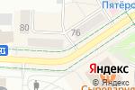 Схема проезда до компании Взгляд в Альметьевске