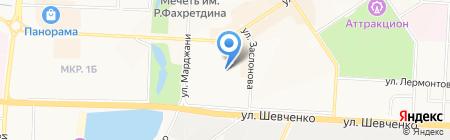 Инфомед на карте Альметьевска