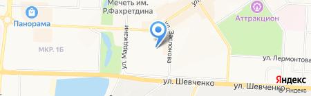 Бриз на карте Альметьевска