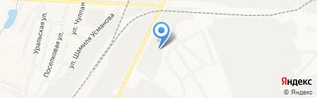Чаллы на карте Альметьевска