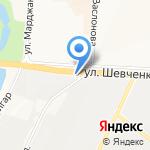Люция на карте Альметьевска