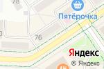 Схема проезда до компании Нотариус Галеева Р.М. в Альметьевске