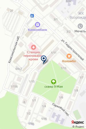 МАГАЗИН АВТОЗАПЧАСТЕЙ ГРЕНАДЕ на карте Набережных Челнов