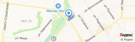 Альстар на карте Альметьевска