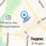 Кукчэчэк на карте Альметьевска