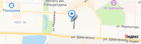 Ассоль на карте Альметьевска