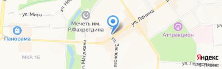 Пятерочка на карте Альметьевска