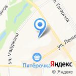Библиотека №1 на карте Альметьевска