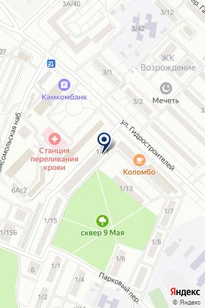 КУРЬЕРСКАЯ СЛУЖБА ФИЛАТОВА С.Р. на карте Набережных Челнов