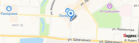 Эго на карте Альметьевска