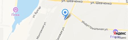 АГЗС на карте Альметьевска