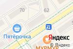 Схема проезда до компании Максавит в Альметьевске