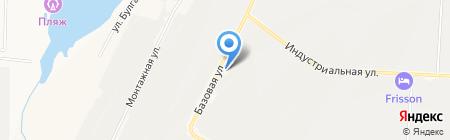 АЗС Автодорстрой на карте Альметьевска