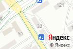 Схема проезда до компании Добрый пекарь в Альметьевске